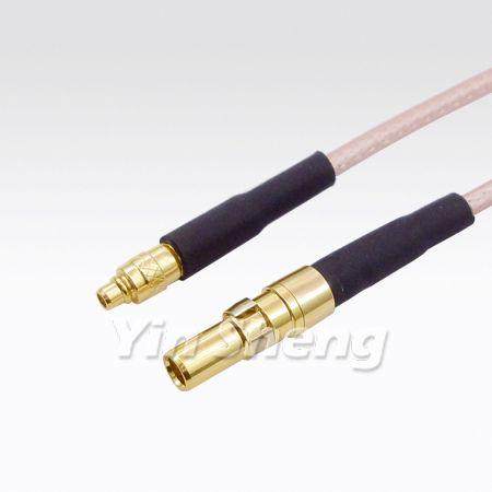 1.0/2.3 (DIN 41626-2) Jack Crimp To MMCX Plug Crimp with RG316 Cable - 1.0/2.3 (DIN 41626-2) Jack Crimp To MMCX Plug Crimp with RG316 Cable