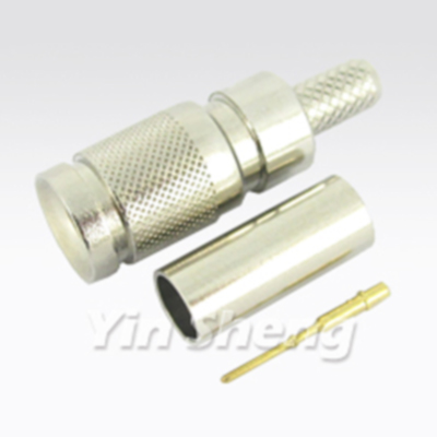 1.0/2.3 Connector - Slide-on coupling design with applications up to 4GHz