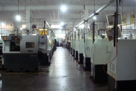 Lathe production line