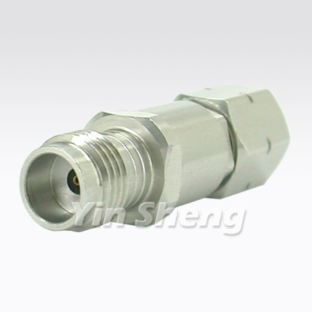 2.4mm Plug to 1.85mm Jack Adapter 50GHz - 2.4mm Plug to 1.85mm Jack Adapter 50GHz