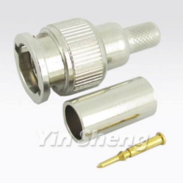 Mini BNC Plug Crimp - Mini BNC Plug Crimp