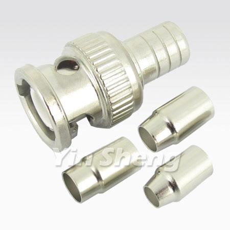BNC Plug Quick Crimp (RG58U, RG59U, RG6U RING)