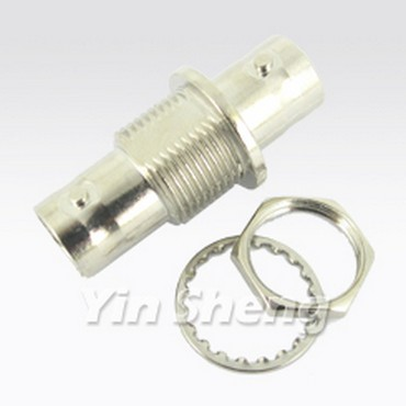 BNC Connector for Adapters - BNC Double Jack Bulkhead Adapter(Metal)