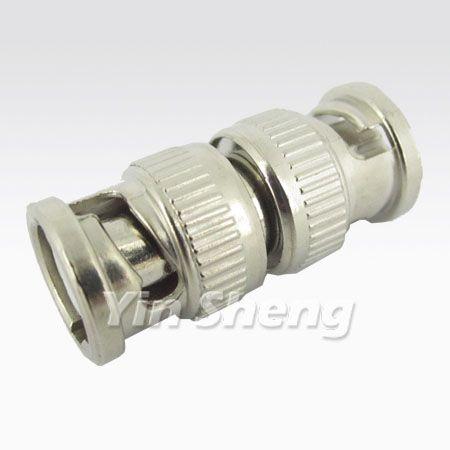 BNC Double Plug Adapter - BNC Double Plug Adapter