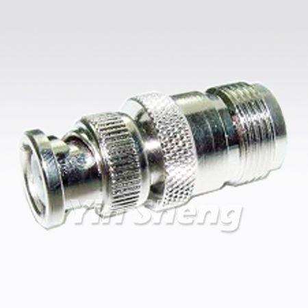 BNC Plug 50 ohm To UHF Jack Adapter - BNC Plug 50 ohm To UHF Jack Adapter