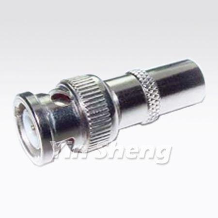 BNC Plug To PAL Plug Adapter - BNC Plug To PAL Plug Adapter