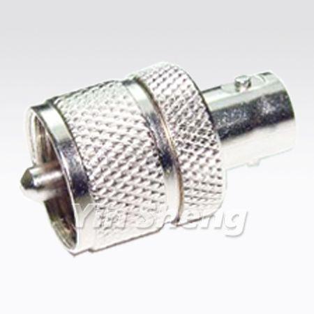 BNC Jack To UHF Plug Adapter - BNC Jack To UHF Plug Adapter
