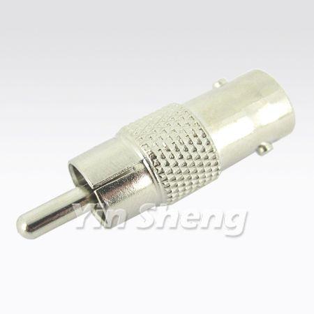 BNC Jack To RCA Plug Adapter - BNC Jack To RCA Plug Adapter