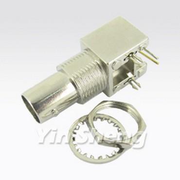 3G-SDI BNC Jack Right Angle PCB Mount (Metal)