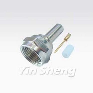 F Plug Press Type For RG179U Cable