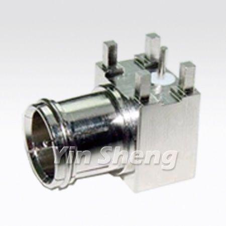 F Quick Plug Right Angle PCB Monut