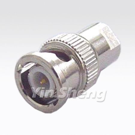 FME Plug To BNC Plug Adapter