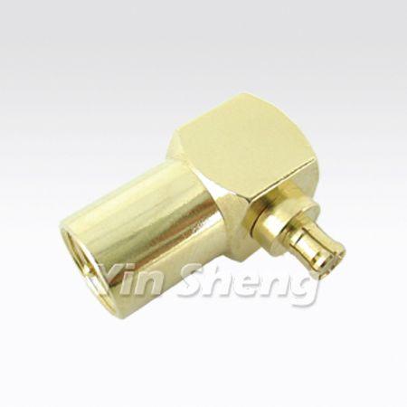 FME Plug Raight Angle To MCX Plug Adapter
