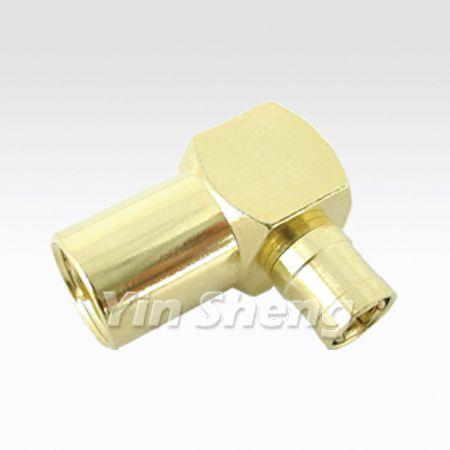 FME Plug Raight Angle To SMB Plug Adapter