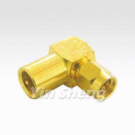 FME Plug Raight Angle To SMA Plug Adapter