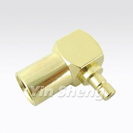 FME Plug Right Angle To SMB Jack Adapter - FME Plug Right Angle To SMB Jack Adapter