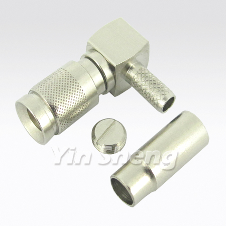 1.0/2.3 Plug Right Angle Crimp