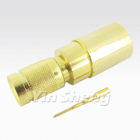 1.0/2.3 Plug Crimp for ST214 Cable