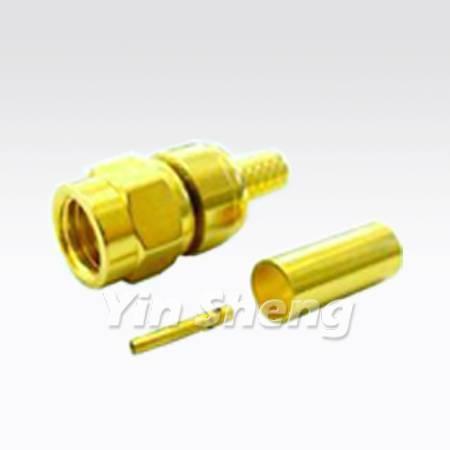 SMC Plug Crimp for RG174U