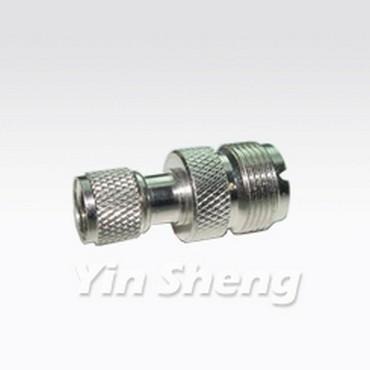 Mini UHF Plug To UHF Jack Adaptor