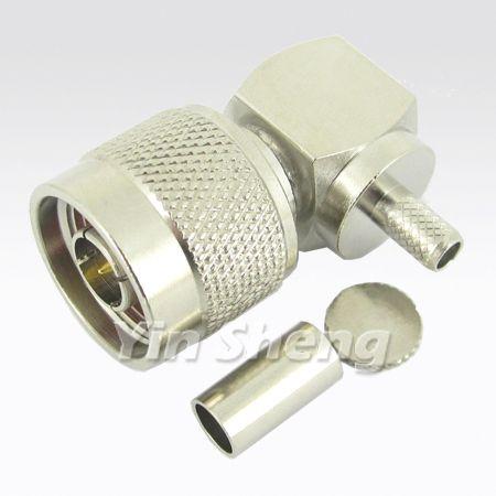 N Plug Crimp for RG58U,RG141,RG195,LMR195,LMR200 Cable