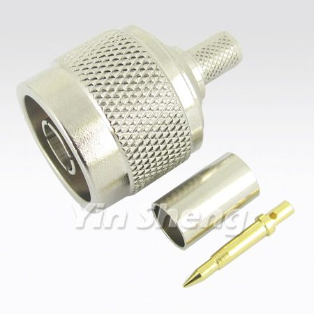 N Plug Crimp for LMR240 Cable