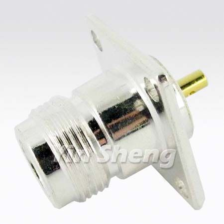 N Jack Receptacle Chassis Mount