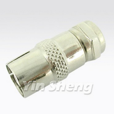 PAL Jack To F Plug Adaptor - PAL Jack To F Plug Adaptor