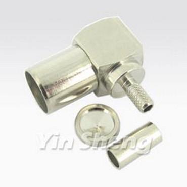 PAL Plug Right Angle Crimp - PAL Plug Right Angle Crimp