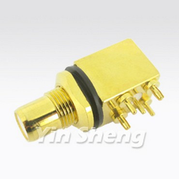 RCA Jack Right Angle PCB Mount - RCA Jack Right Angle PCB Mount