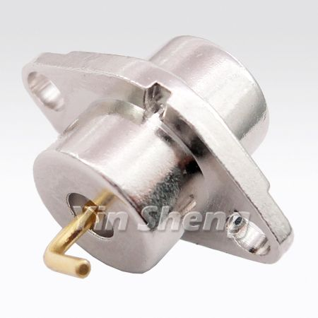 Modified SMA Plug Panel Receptacle - Modified SMA Plug Panel Receptacle