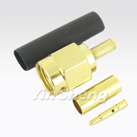 SMA Plug Crimp for RG58U