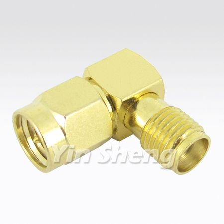SMA Raight Angel Plug to Jack Adapter - SMA Raight Angel Plug to Jack Adapter
