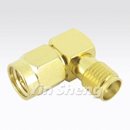Adapter SMA Raight Angel Plug do Jack Plug - Adapter SMA Raight Angel Plug do Jack Plug