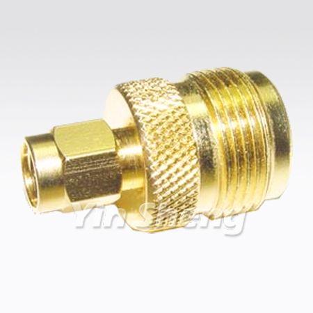 SMA Plug to N Jack Adapter - SMA Plug to N Jack Adapter