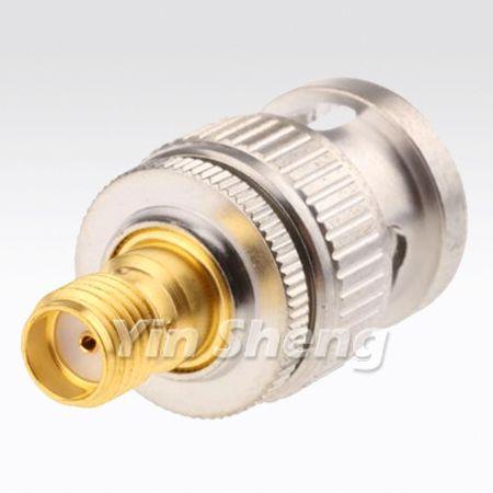 SMA Jack to BNC Plug Adapter - SMA Jack to BNC Plug Adapter