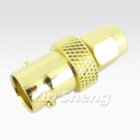 SMA Plug to BNC Jack Adapter - SMA Plug to BNC Jack Adapter