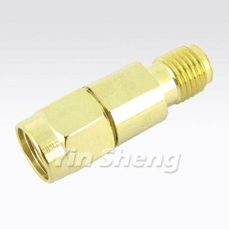 SMA Jack to Reverse Polarity SMA Plug Adapter - SMA Jack to Reverse Polarity SMA Plug Adapter