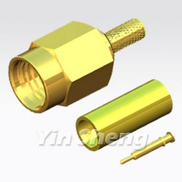 SSMA Plug Crimp - SSMA Plug Crimp