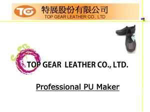 Shoes Series PU Synthetic Leather Introduction P01