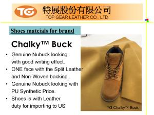 Shoes Series PU Synthetic Leather Introduction P04