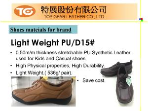 Shoes Series PU Synthetic Leather Introduction P06