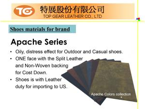 Shoes Series PU Synthetic Leather Introduction P07