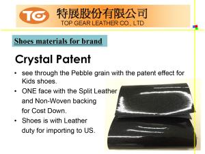 Shoes Series PU Synthetic Leather Introduction P08