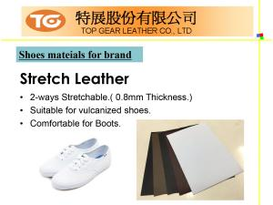 Shoes Series PU Synthetic Leather Introduction P09