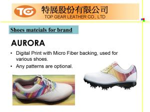 Shoes Series PU Synthetic Leather Introduction P13