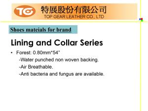 Shoes Series PU Synthetic Leather Introduction P16