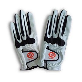 La pelle sintetica PU dei guanti da golf