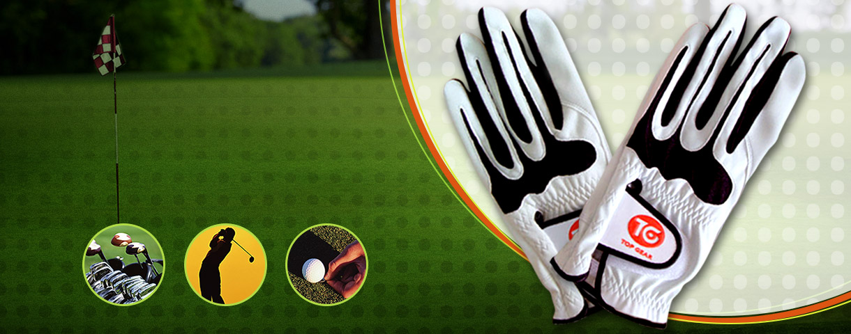 Pelle sintetica PU       per guanto da golf