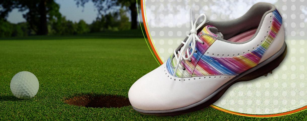 Pelle sintetica PU       per scarpa da golf
